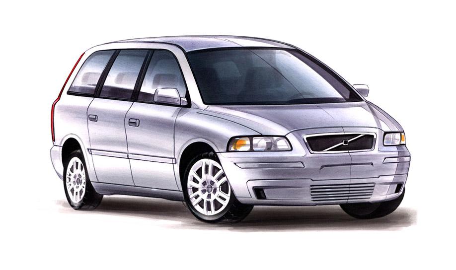 Volvo Family Van 2002